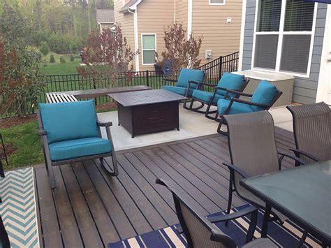 charlotte nc concrete patio  deck expansion project