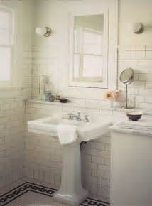 white subway tile bathroom ideas bath week how five great bathrooms magically came my way