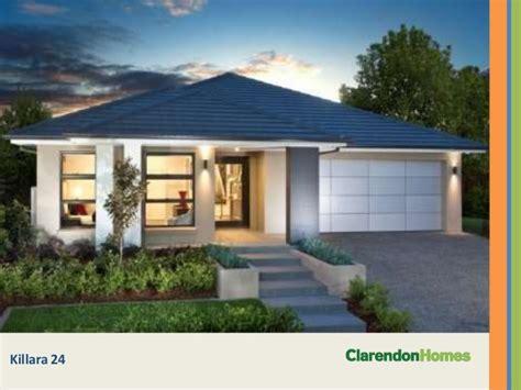 clarendon homes single storey designs