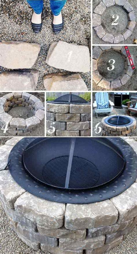 easy diy pit kit with grill decorate 39 easy to do diy pit ideas