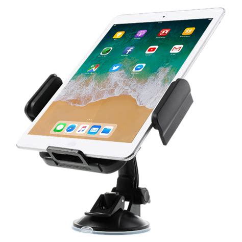 Car Holder Universal Mount Suction For Galaxy Tabl Berkualitas universal rotating windshield suction cup tablet car mount