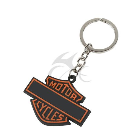 keychain hd brand new motorcycle rubber keychain key chain keyring for