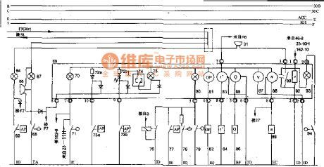 automobile instrument theory circuit of 70 road vehicle of t circuit diagram world