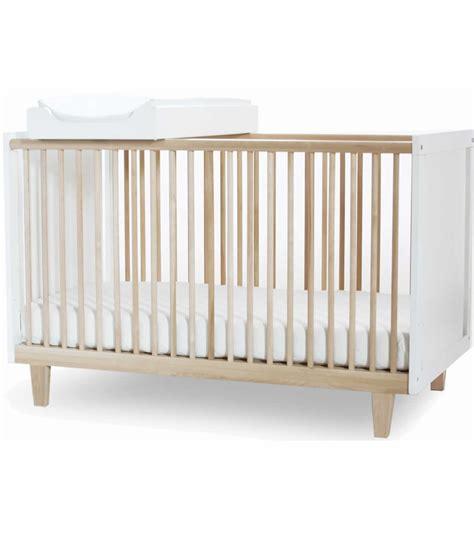 Birch Crib by Oeuf Rhea Crib In Birch White