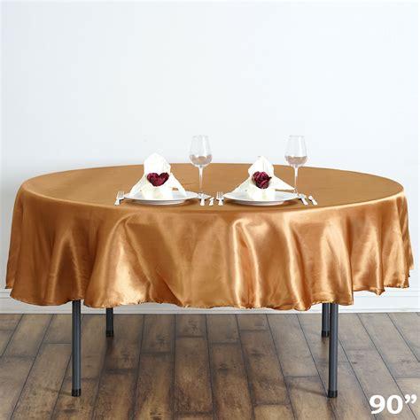 Kitchen Table Cloths 5 Pcs 90 Quot Satin Tablecloths Wedding Reception
