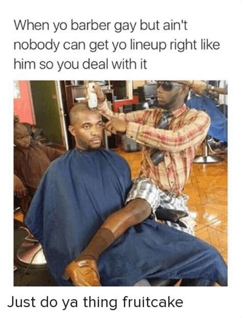 can you get a haircut where you can wear it as a bob and flipped when yo barber gay but ain t nobody can get yo lineup