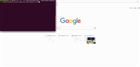 chrome headless how to run google chrome headless in docker stack overflow