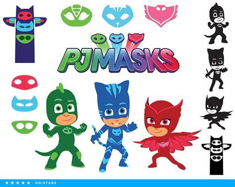pj masks clipart silhouette pj masks svg catboy svg file