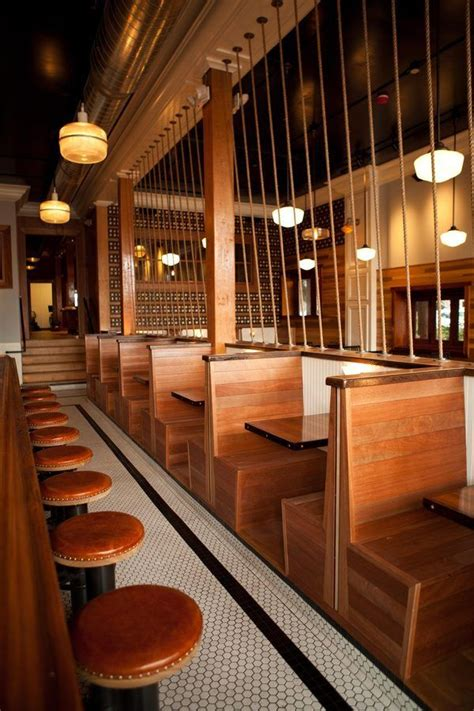 wooden    booth seating restaurant booth