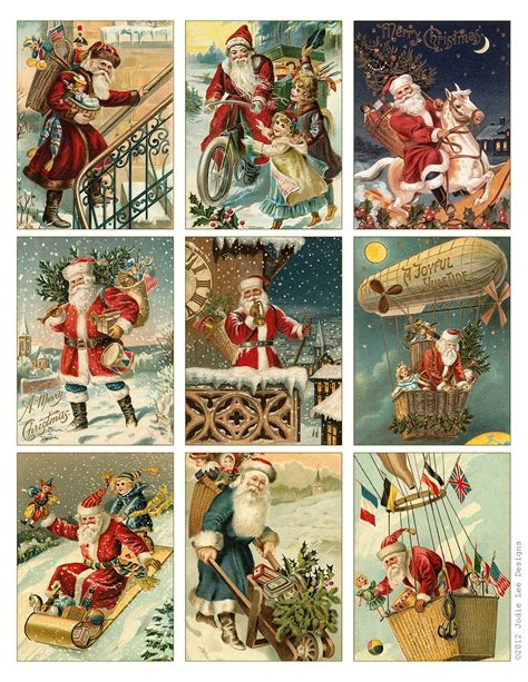 printable christmas vintage jodie lee designs 12 days of christmas giveaways day 3