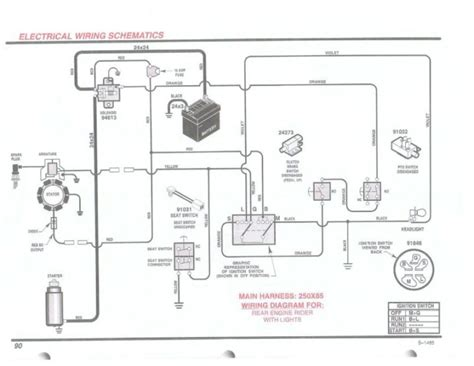 wiring diagram craftsman lawn mower alexiustoday