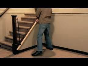 How To Remove Stair Banister How To Install A Stair Simple Axxys Stair Kit Youtube