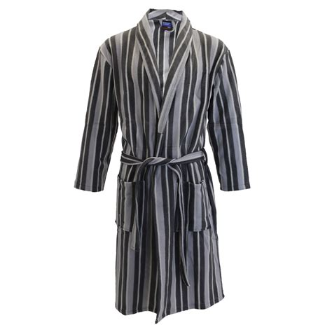 pattern for kimono dressing gown mens harvey james striped pattern fleece shawl collar