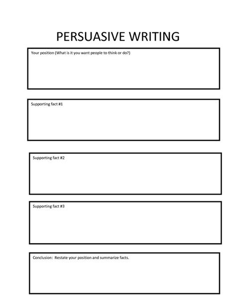 College Essay Organizer by Persuasive Essay Graphic Organizer Rtf Persuasive Writing Organizer Writing Graphic