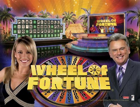 wheel of fortune wheel of fortune pinball machine for sale