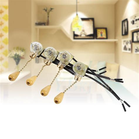 ceiling fan pull chain set 4pcs set ceiling fan l wall floor bedside light