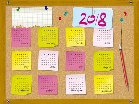 10 calendarios 2018 2019 para imprimir gratis