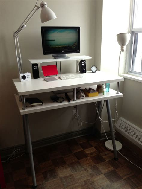 ikea computer desk hack ikea standing desk hack for home office desk minimalist