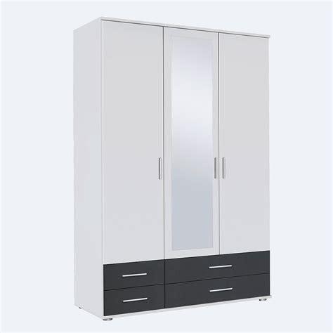 kleiderschrank grau mit spiegel kleiderschrank rasant schrank mit spiegel wei 223 grau