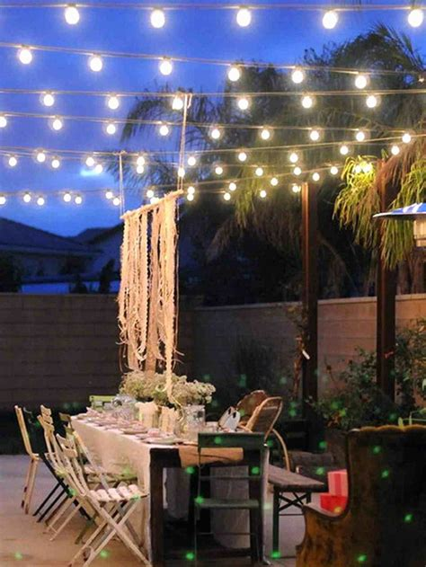 Led Patio Lighting Ideas Deck String Lighting Ideas Style String Of Patio Lights With Outdoor Led Furniture Hanging