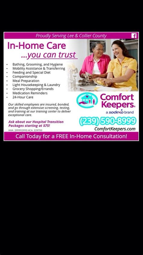 comfort keepers ct comfort keepers home health care 12493 brantley