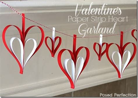 valentines day items 20 valentines day decor ideas paper strips
