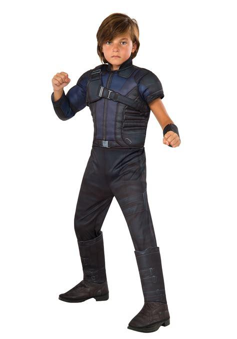 Boy And Fashion Avenger 1 boys civil war hawkeye deluxe costume