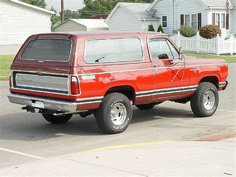 1978 dodge ramcharger for sale 1978 dodge ramcharger se for sale mount vernon indiana