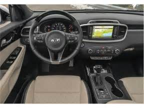 Kia Sorento Inside Pictures 2017 Kia Sorento Reliability U S News World Report