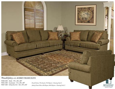 olive couch olive fabric modern loveseat sofa set w optional items