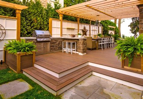 backyard deck pictures deck pictures paradise decks and landscape design