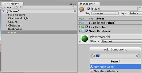 unity tutorial navmesh navigation using navmesh agent unity tutorial gyanendu