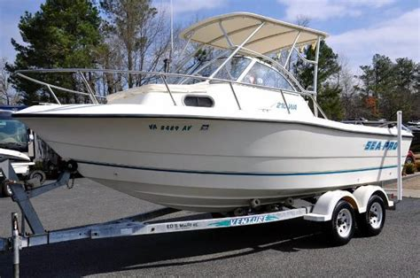 commonwealth boat brokers ashland va 1999 sea pro 210 walk around 21 foot 1999 sea pro