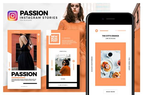 passion instagram stories pack  behance