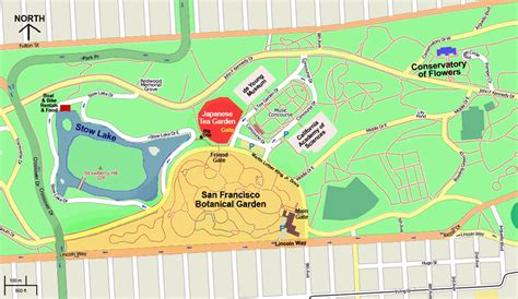 san francisco map golden gate park other places other blooms