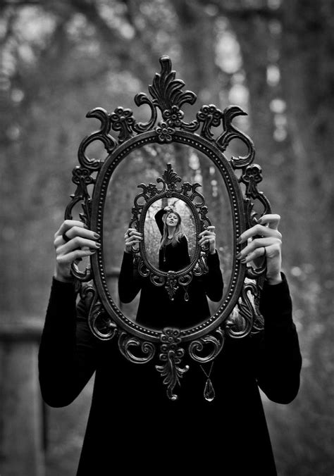 black and white mirror 255 best through the looking glass images on