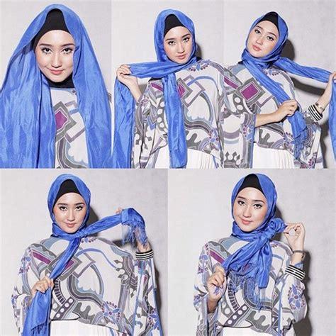 tutorial hijab pashmina kaos terbaik modelbusana tutorial cara berhijab sesuai syariat yang benar modelbusana