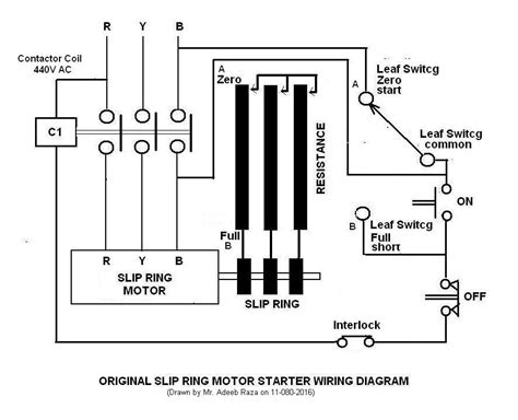 slip ring motor starter wiring diagram 38 wiring diagram