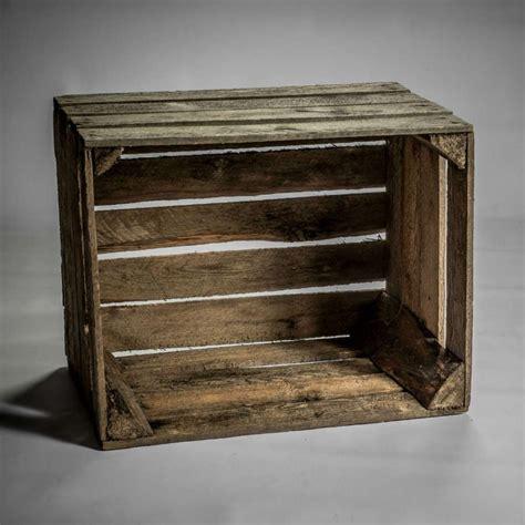 table caisse en bois caisse en bois vintage