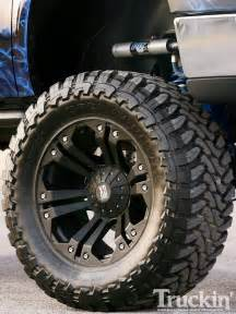 Truck Tires And Rims Monsterlifted 2007 Toyota Tundra