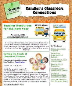 weekly newsletter a new year candler s classroom connections on 60 pins