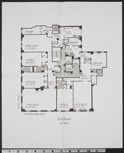 san remo floor plans 1000 images about central park west on pinterest