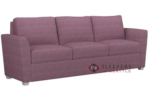 Paragon Sleeper by Customize And Personalize Cameron King Fabric Sofa By