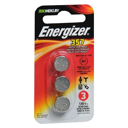 Battery Energizer Lr44 Holosight 551 Battery energizer electronic silver oxide batteries lr44 357 walgreens