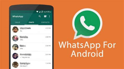 whatsapp free for android whatsapp 2 17 115 for android now available for