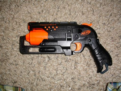 nerf hammershot new modified nerf hammershot