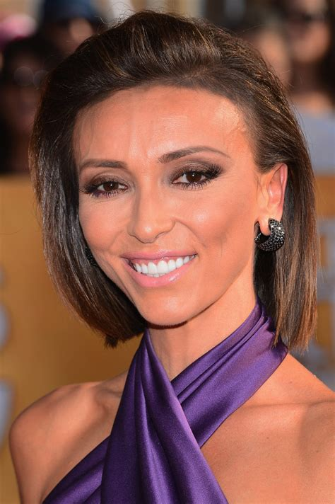 guilanna rancic short sharp bob giuliana rancic bob short hairstyles lookbook stylebistro
