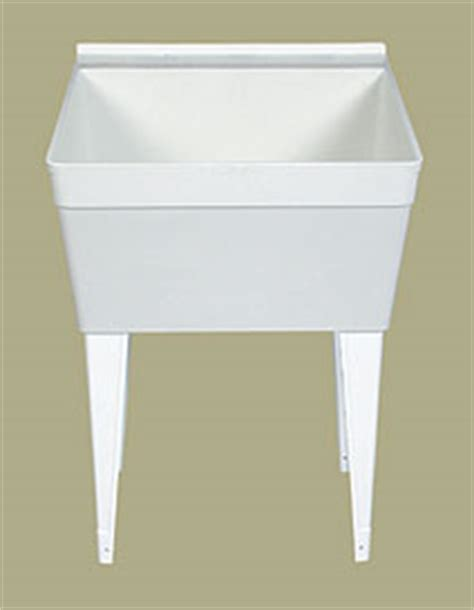 florestone model fm utility sink fm florestone model fm utility sink white faucetdepot com