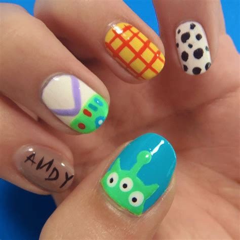 easy nail art characters disney nail art we re obsessing over right now