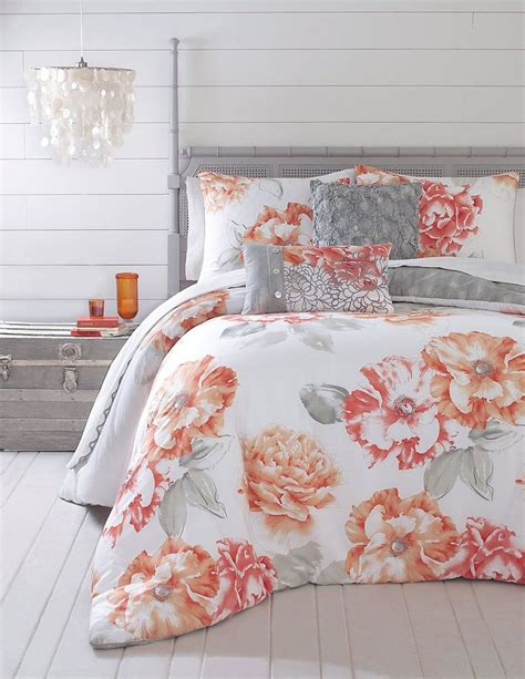 coral and gray bedding 17 best ideas about coral and turquoise bedding on